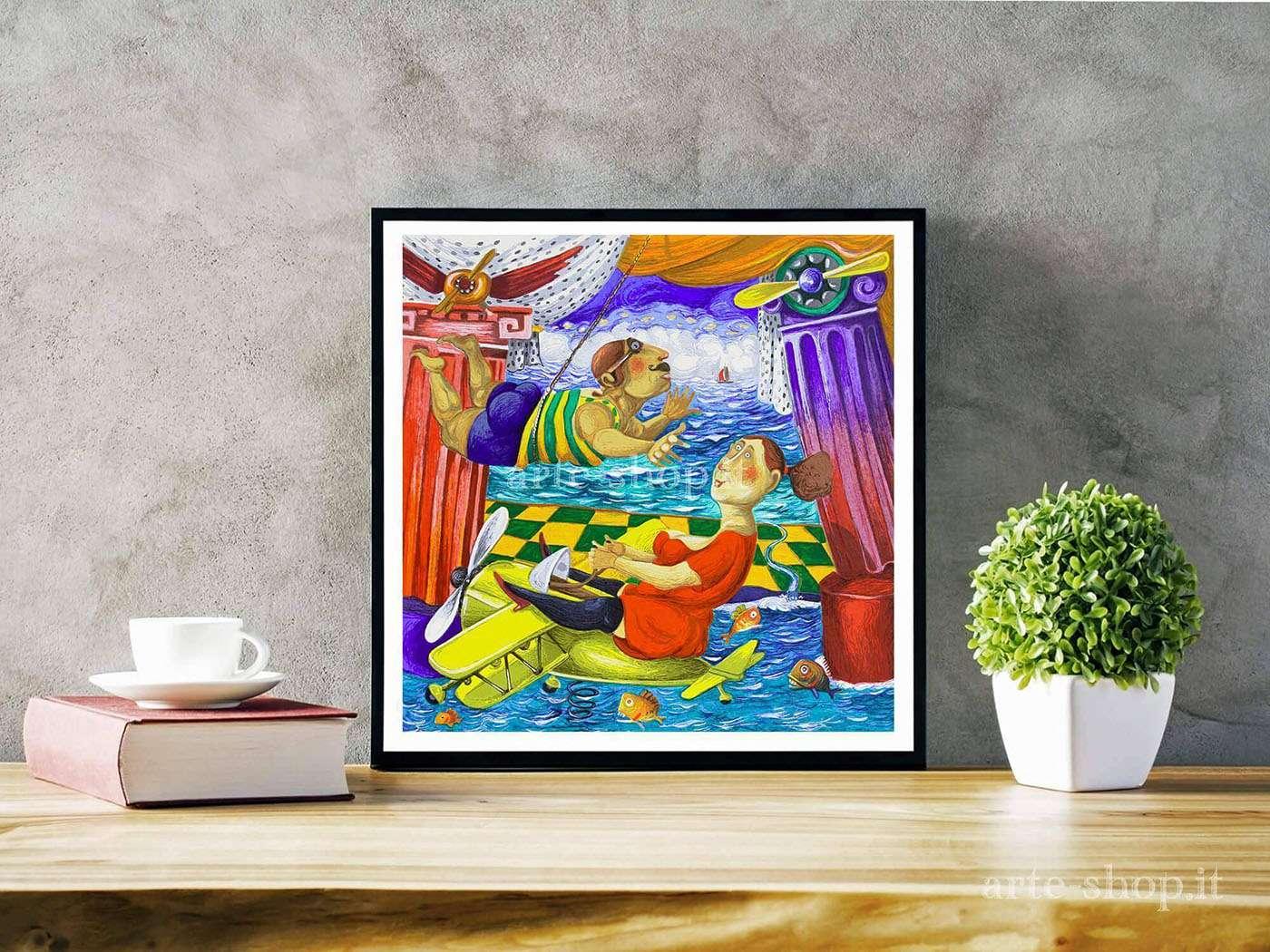 Serigrafia Pino Procopio - A casa dell'aviere