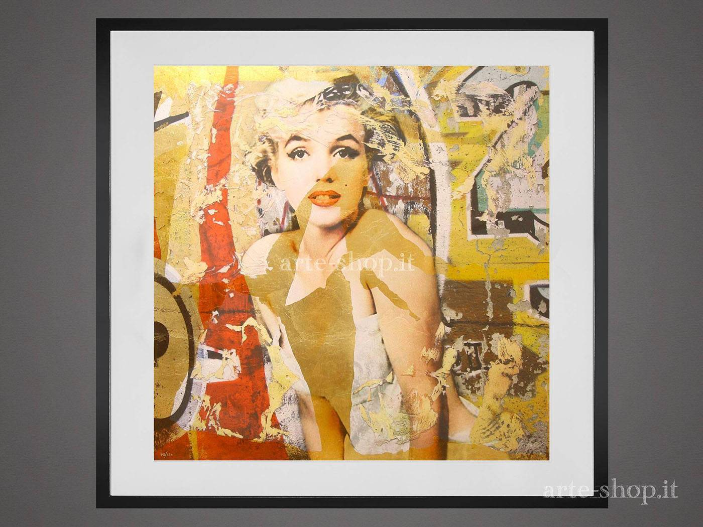 Serigrafia Giuliano Grittini - Marilyn 1