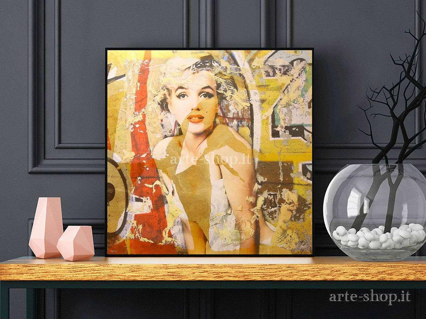 Serigrafia Giuliano Grittini - Marilyn 1