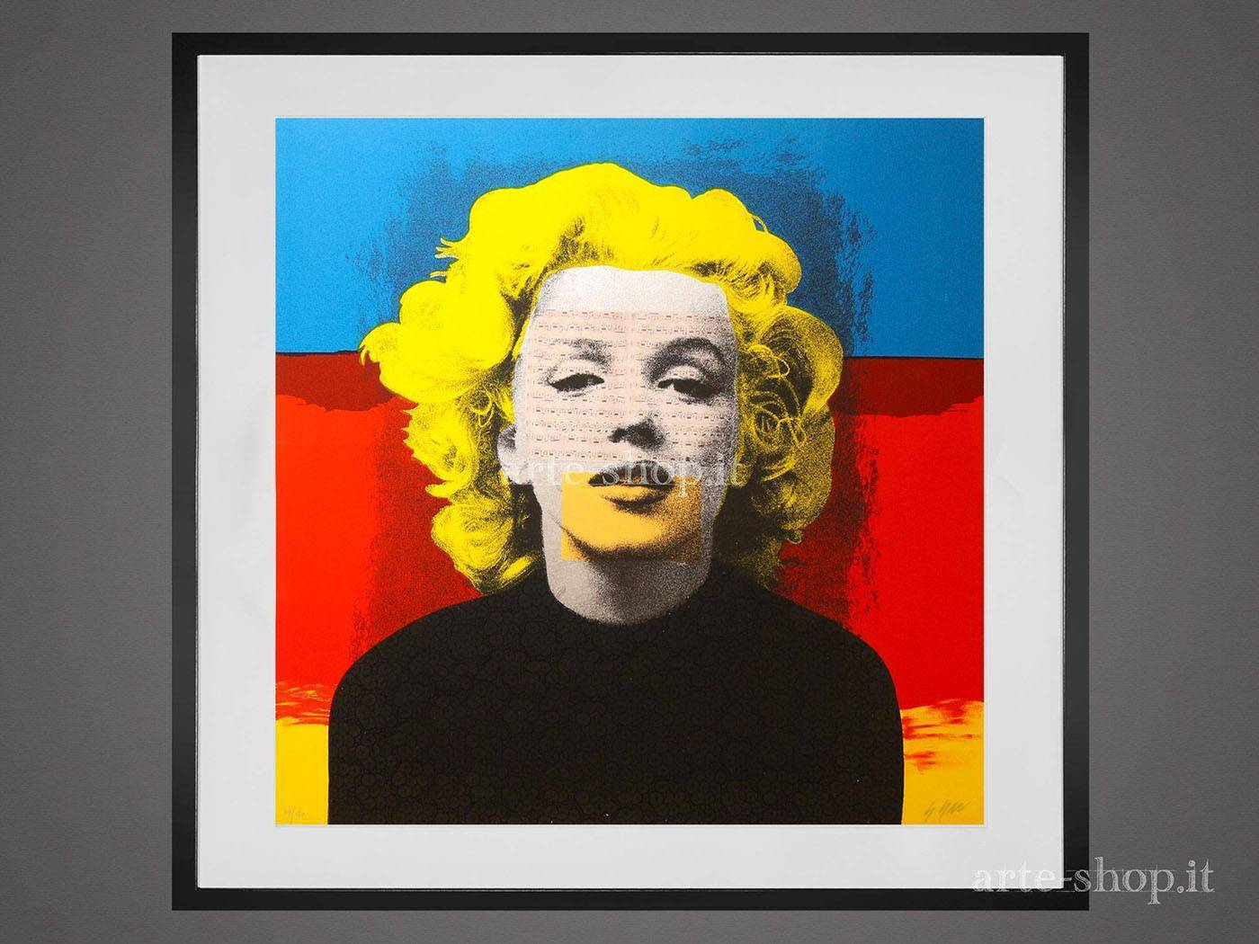 Serigrafia Giuliano Grittini - Marilyn 2