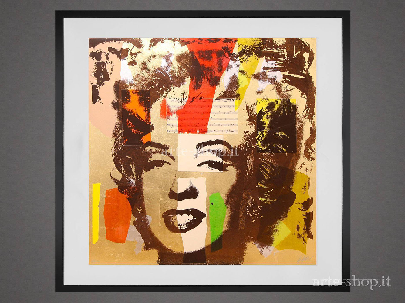 Serigrafia Giuliano Grittini - Marilyn 3