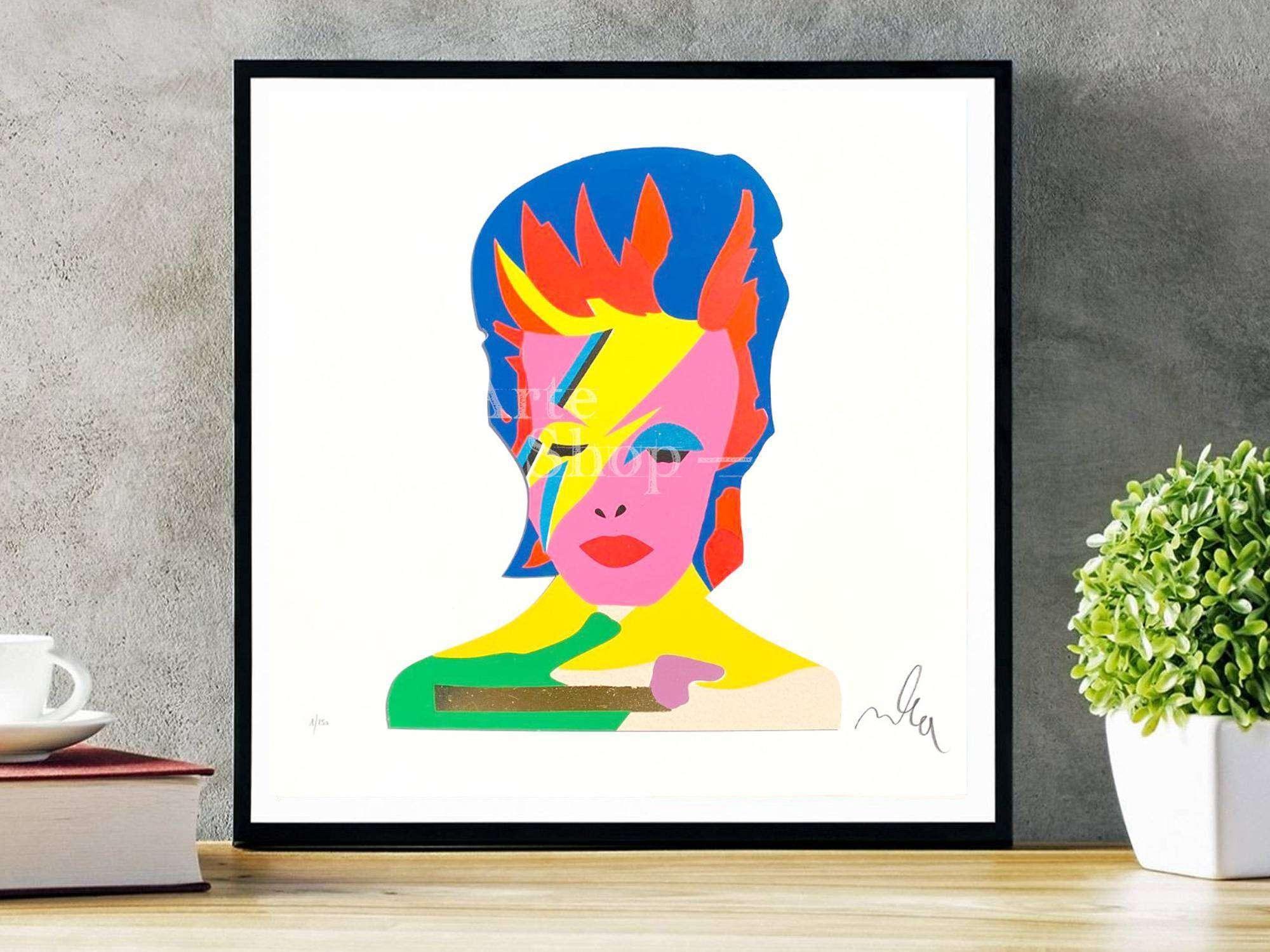 Serigrafia Marco Lodola - David Bowie