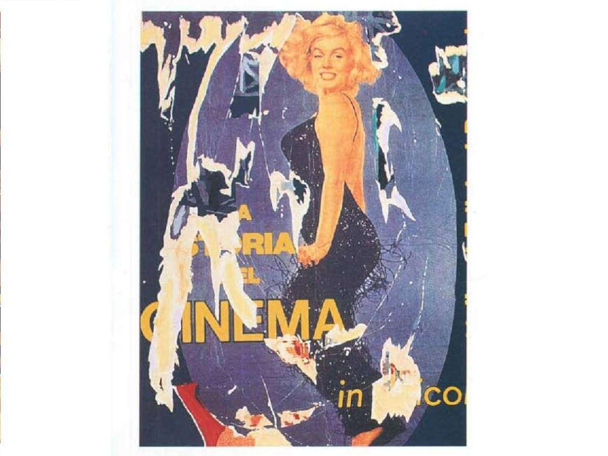 Serigrafia Mimmo Rotella - I vitelloni