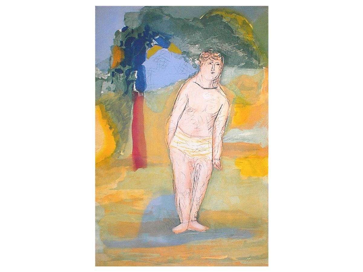 Serigrafia Sandro Chia - Poesie romane 1