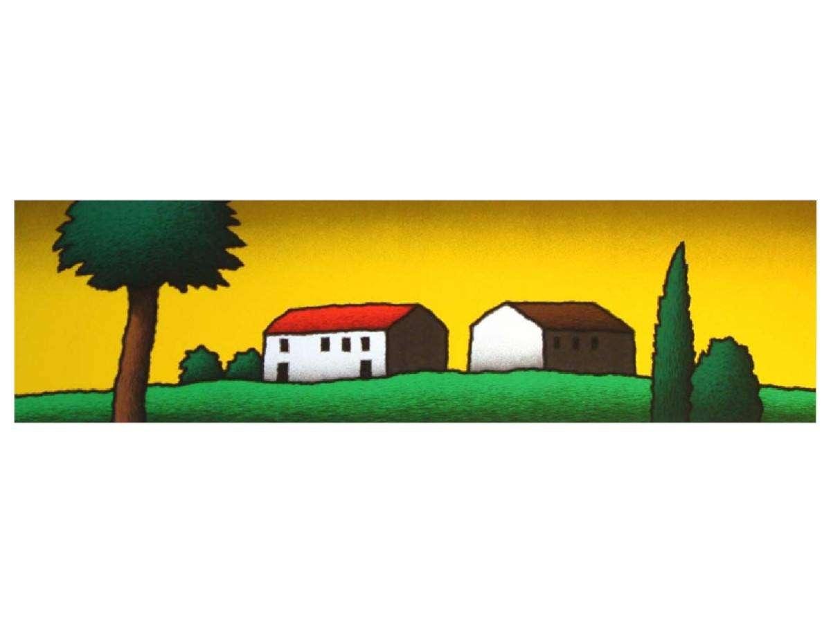 Serigrafia Tino Stefanoni - Primo casolare
